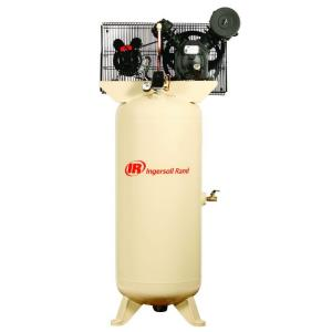 Ingersoll Rand Type 30 Reciprocating 60 Gal. 5 HP Electric 230-Volt Single Phase Air... by