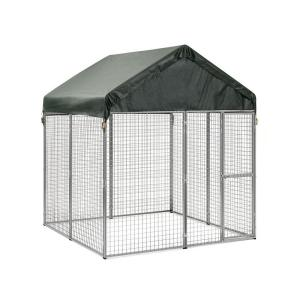 Home › Fence Catalog › Fence Kits › Dog Kennels › Chain Link Kennel System. Filter Your Results. Collection. Chain Link. Material. Finish. Brand Hoover Fence Chain Link Kennel Panels w/ Gates - Heavy Grade - HF20 Frame w/ 9 ga. Fabric. #KENNEL-PANEL-HFC-H-G. View More.