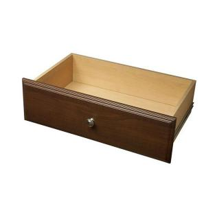 Martha Stewart Living 8 in. x 24 in. Espresso Deluxe Drawer Kit