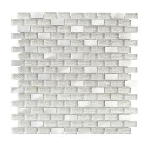 Click here to buy Jeffrey Court Crystal Ice 11.375 inch x 12 inch x 8 mm Glass Mosaic Tile by Jeffrey Court.