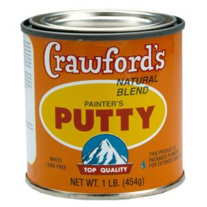 Crawford 1 Lb Natural Blend Painters Putty 149194 The Home Depot