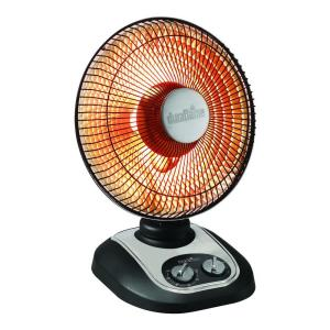 Duraflame 13 in. 800 Watt Parabolic Oscillating Radiant Heater