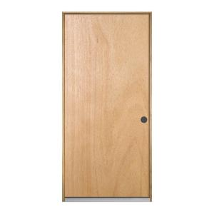 jeld wen 36 in x 80 in hardwood unfinished flush solid