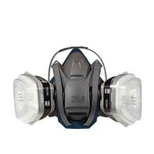 3M Medium Paint Project Respirator with Quick Latch Mask by