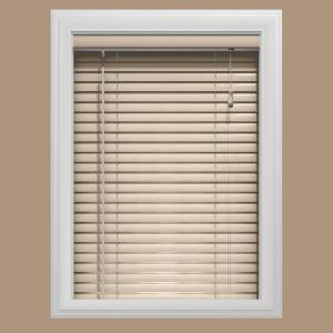 Bali Today 51 in. W x 72 in. L Wheat Aluminum Mini Blind 1 in. Slats