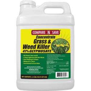 Compare-N-Save 2.5 Gal. Grass and Weed Killer Glyphosate Concentrate