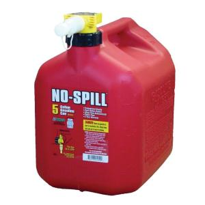 No Spill in Gasoline Cans