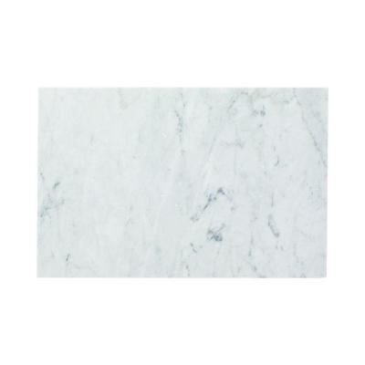Carrara 8 in. x 12 in. Honed Marble Wall Tile (4 sq. ft. /case) Product Photo