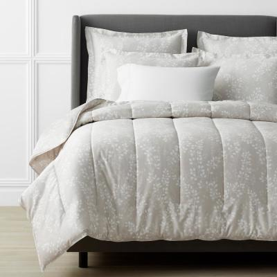 Legends Luxury Shadow Vine Cotton Sateen Comforter