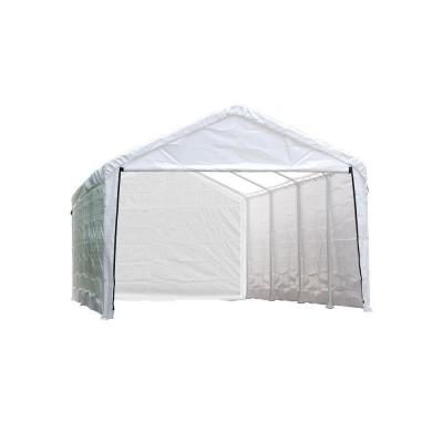 ShelterLogic Enclosure Kit for Super Max 12 ft. x 30 ft. White Canopy (Canopy and Frame not Included)