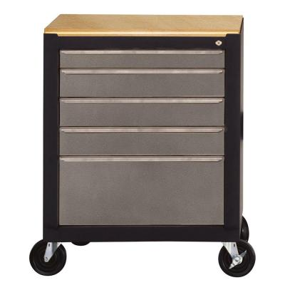 Edsal Silvervein 26-1/2 in. Mobile Tool Box