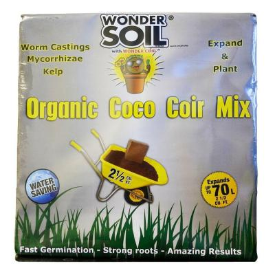 2-1/2 cu. ft. Organic Expand and Plant Complete Mix Coco Cube