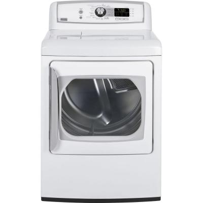 GE Profile Harmony 7.3 cu. ft. Gas Dryer in White