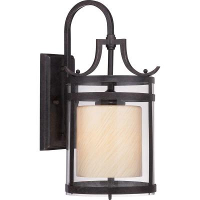 Illumina Direct Aniao 17 in. Imperial Bronze Outdoor Wall Lantern