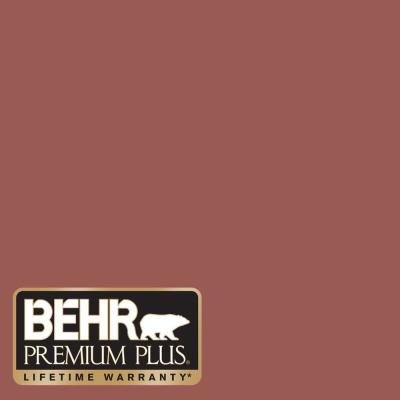 8 oz. #PMD-86 Arabian Red Interior/Exterior Paint Sample