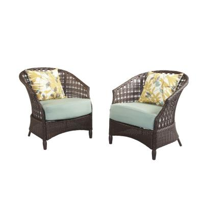 Hampton Bay Haver Hill IV Patio Lounge Chairs (2-Set)