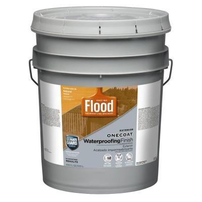 Flood 5 Gal Natural One Coat Protection Translucent Stain Fld300 006 05 The Home Depot