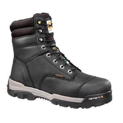 Men's Ground Force Waterproof 8'' Work Boots - Composite Toe