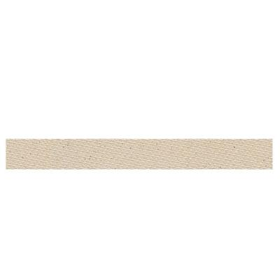 Daltile Identity Bistro Cream Fabric 1 in. x 6 in. Porcelain Cove Base Corner Floor and Wall Tile