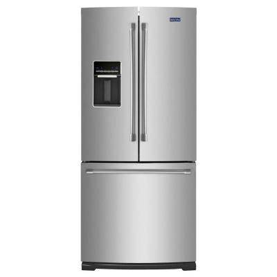 30 in. W 19.7 cu. ft. French Door Refrigerator in Stainless