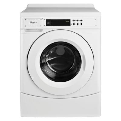 Whirlpool 3.1 cu. ft. High-Efficiency Commercial Front Load Washer in White, ENERGY STAR