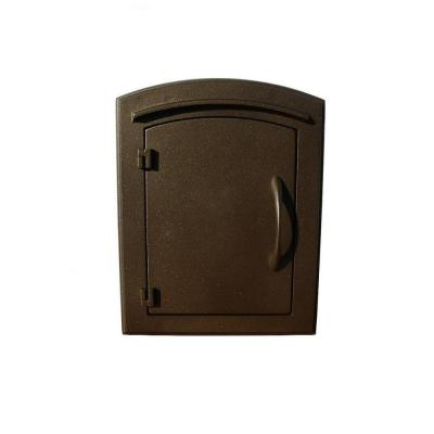 Manchester Wall-Mount Security Mailbox Product Photo