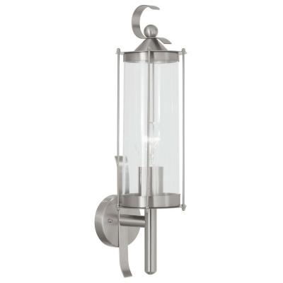 Eglo Cornwall Wall-Mount Outdoor Stainless-Steel Lamp
