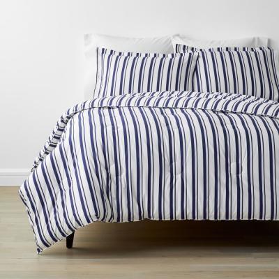 Company Kids™ Stripe Organic Cotton Percale Comforter Set