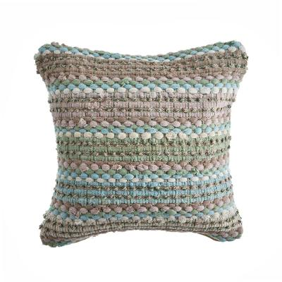 Loop Hypoallergenic Polyester 18 in. x 18 in. Throw Pillow