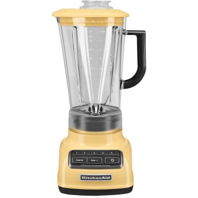 Kitchenaid 5 Speed Blender In Majestic Yellow Ksb1575my The Home Depot