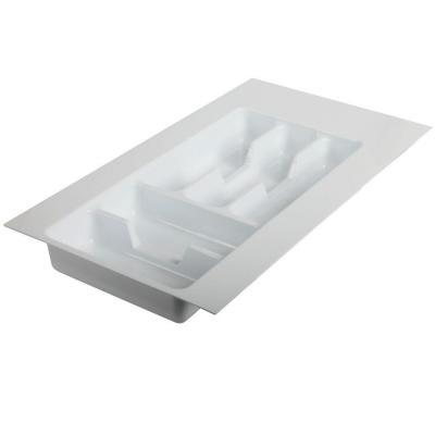 2.19 in. x 11.75 in. x 21 in. Tableware Drawer Organizer