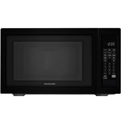 Architect Series II 1.6 cu. ft. Countertop Microwave in Black Built-In