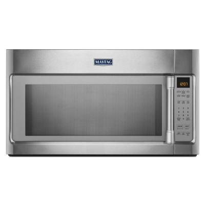 Maytag 2.0 cu. ft. Over the Range Microwave in Stainless Steel with Sensor Cooking