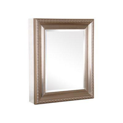 Oval Brushed Nickel Wall Mirror - Bed Bath  Beyond