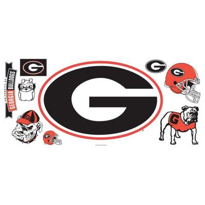 RoomMates University of Georgia Giant Peel and Stick Wall Decals-DISCONTINUED