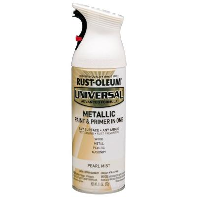 Rust Oleum Universal White Hammered Spray Paint
