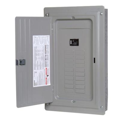 ES Series 150 Amp 24-Space 30-Circuit Main Breaker Indoor Load Center Product Photo