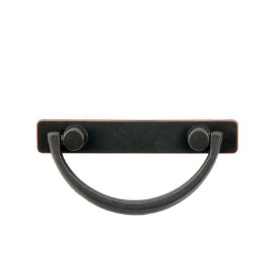 null Harnett 3 in. Oil Rubbed Bronze Bail Pull-DISCONTINUED