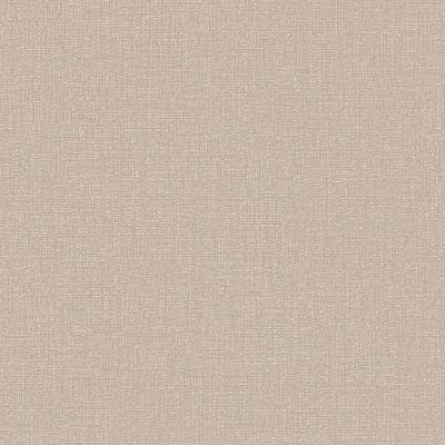 56 sq. ft. Beige and Gold Chenille Wallpaper