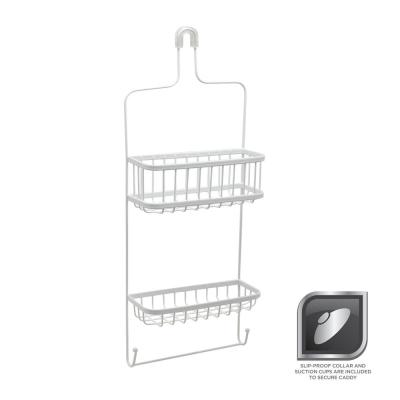Glacier Bay Over-the-Showerhead Caddy in White