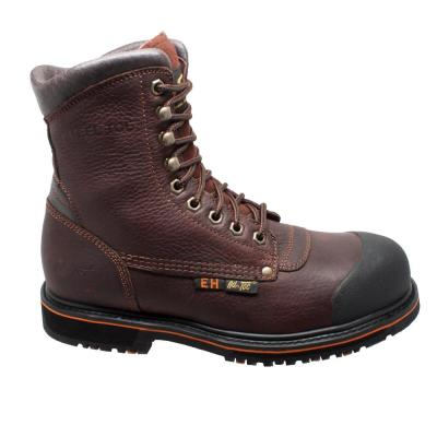 Men's Tumbled 8'' Work Boots - Steel Toe