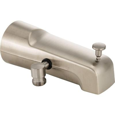 Delta Pull-Up Diverter Tub Spout in Stainless