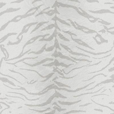 56 sq. ft. White and Silver Tiger Wallpaper