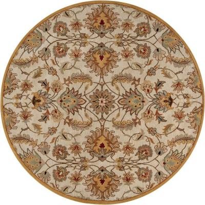 Artistic Weavers John Gold 6 ft. Round Area Rug