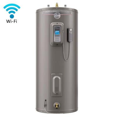 Performance Platinum 40 Gal. Medium 12 Year 5500/5500-Watt Elements Electric Water Heater with LCD Touch Control Display Product Photo