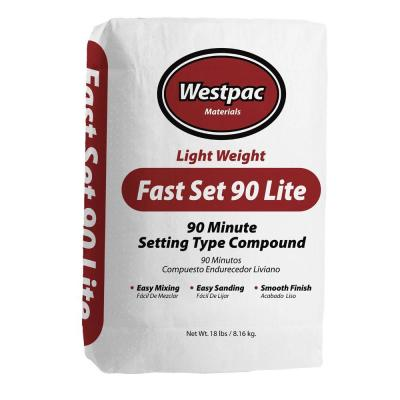 Westpac Materials 18 lb. Fast Set 90 Lite Setting-Type Joint Compound