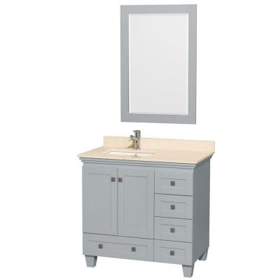 Acclaim 36 in. W x 22 in. D Vanity in Oyster