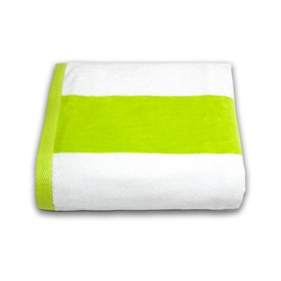 Tropical Cabana Cotton Single Beach Towel