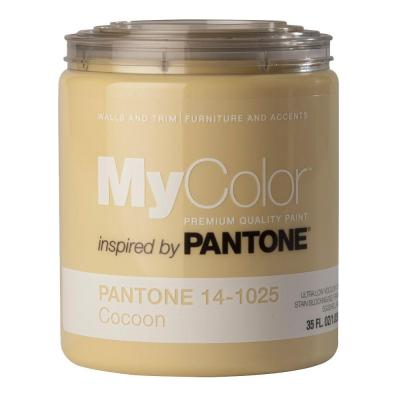 MyColor inspired by PANTONE 14-1025 Eggshell 35-oz. Cocoon Self Priming Paint