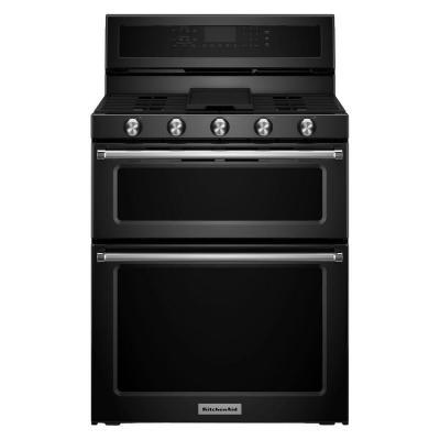 30 in. 6.0 cu. ft. Double Oven Gas Range with Self-Cleaning